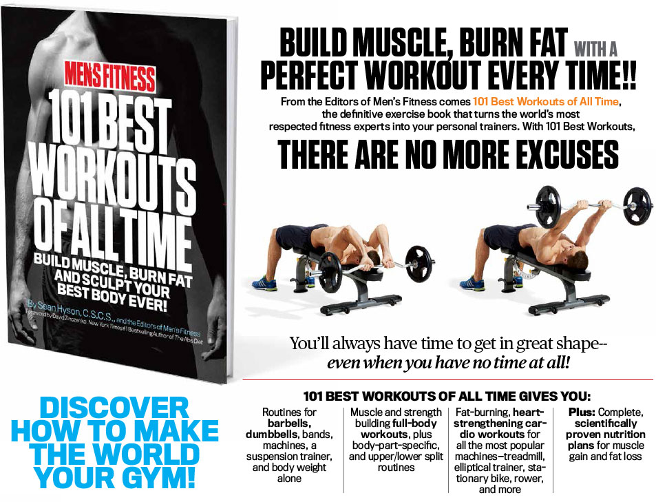 101 Best Workouts of All Time | Men's Fitness